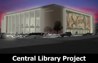 Central Library Project Front Page